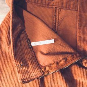 Free People: Corduroy Mini Skirt